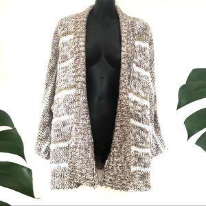 Billabong Sz 10 Oversize Knitted Acrylic Cardigan